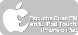 Escucha Cuac FM desde tu iPhone, iPod Touch o iPad